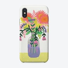 Flowers In A Bottle Phone Case