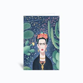 Frida Kahlo Greetings Card