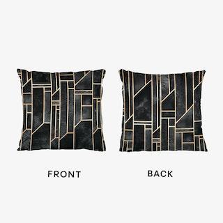 Black Skies Art Cushion