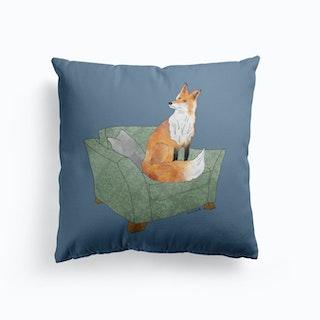 Mr Fox Cushion Cushion