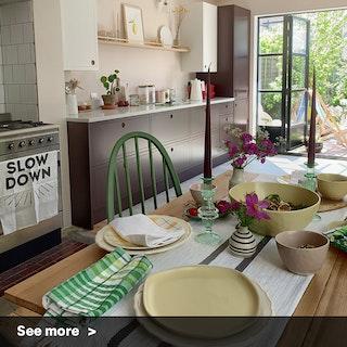 Organic Dining Decor