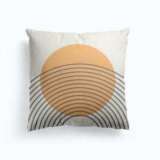 Golden Sun Arches Cushion