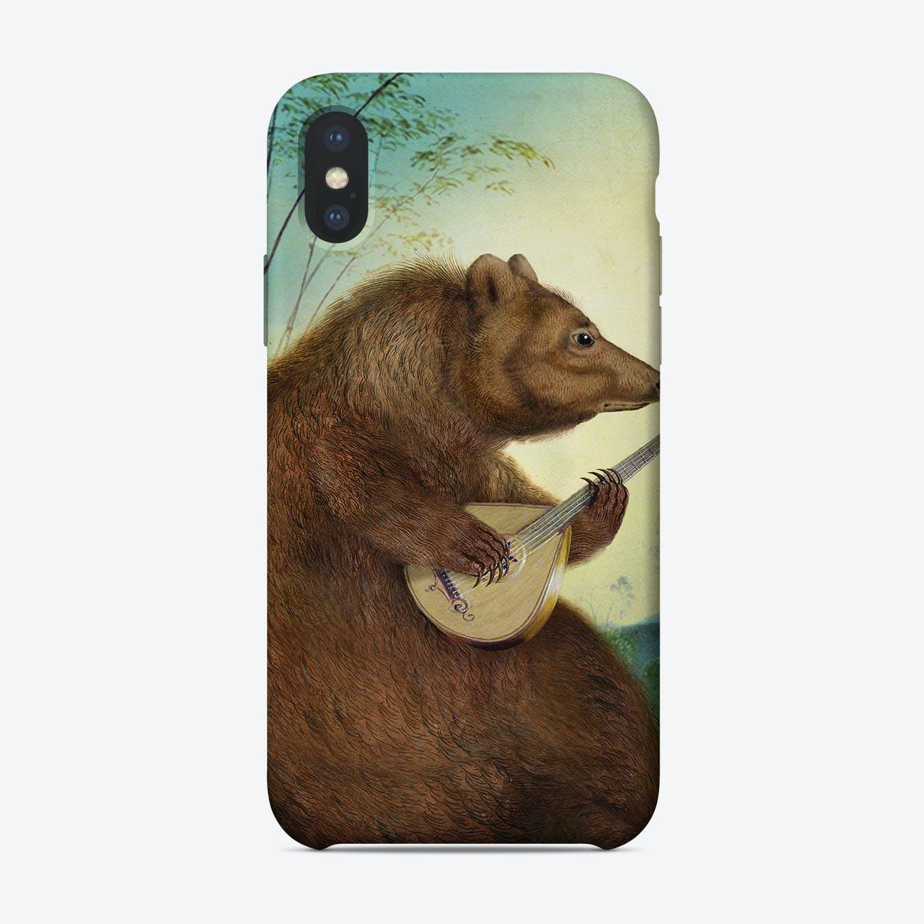 Mandolin Bear Phone Case