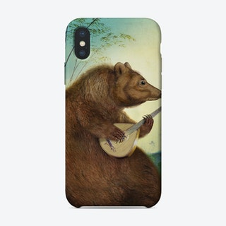 Mandolin Bear Phone Case