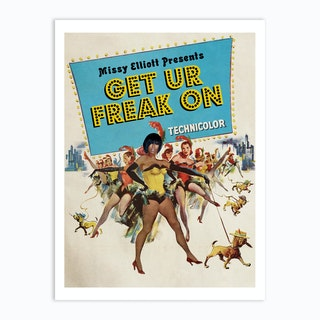 Get Your Freak On Art Print