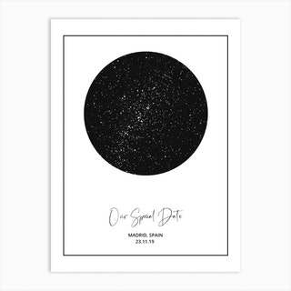 Your Sky Light Personalised Art Print