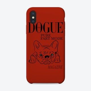 Dogue Magazine Pure Fart Mode Edt Red Phone Case