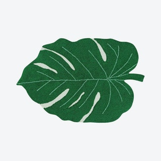 Monstera Leaf - Washable Rug