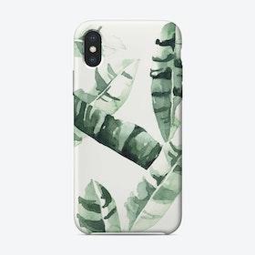 Bananaleaves iPhone Case